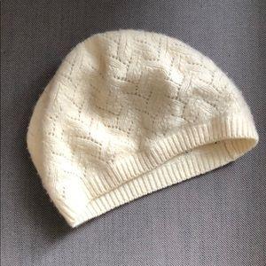 Cashmere woven hat